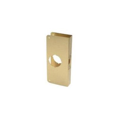 Don-jo Don Jo 1-PB-CW Wrap Around Cylindrical Door Locks With 2 1/8 Hole Polished Brass