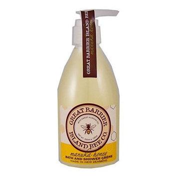 Great Barrier Manuka Honey Bath and Shower Cream - 300ml/10fl.oz.
