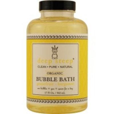 Deep Steep Bubble Bath, Grapefruit Bergamot, 17.5 Ounce [Grapefruit - Bergamot]