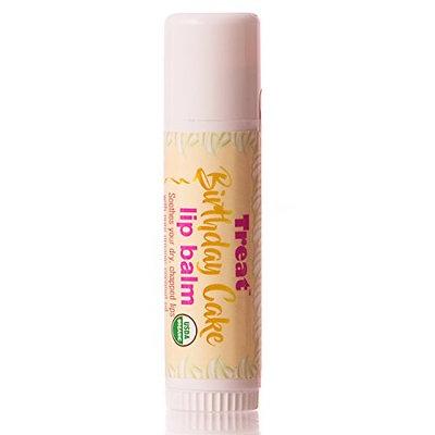 TREAT Jumbo Lip Balm, Organic & Cruelty Free (.50 OZ)