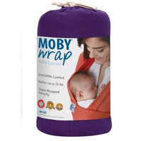 Moby Wrap Baby Carrier for Newborns + Toddlers Soft Baby Sling Baby Wrap, Ideal for Baby Wearing, Breastfeeding, and Keeping Baby Close - Black
