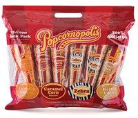 BPC1025968 Popcornopolis Mini Cone 4 Flav Snack Pack #1 - 6x20 Oz