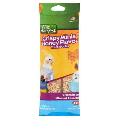 Wild Harvest: Crispy Honey Flavor Minis Treat Sticks, 2.96 Oz