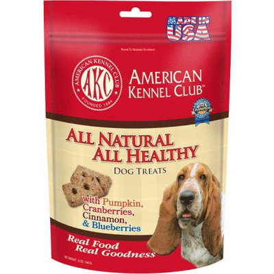 Cherrybrook AKC All Natural Health Treats 12oz Pumpkin Cranberry Cinnamon Blueberry