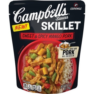 Campbell's Skillet Sauces, Sweet & Spicy Mango Pork, 11 Oz