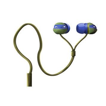Sakar International Teenage Mutant Ninja Turtles Hi - Def Earbuds (Colors/Styles Vary)