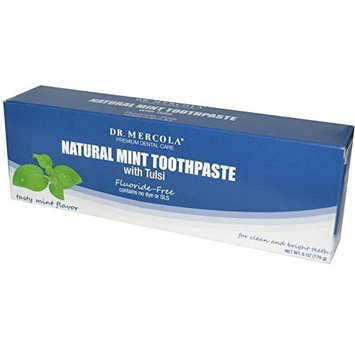 Dr. Mercola: Natural Mint Toothpaste