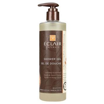 Eclair Naturals Vanilla & Sweet Orange Shower Gel - 12oz
