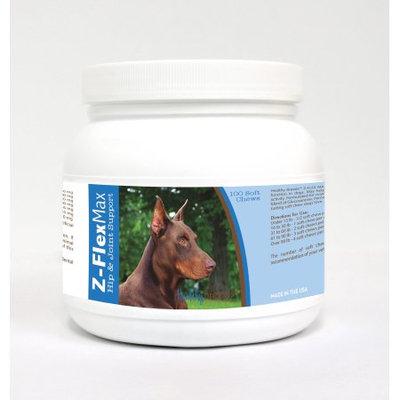Healthy Breeds 840235117308 Doberman Pinscher Z-Flex Max Hip & Joint Soft Chews 100 Count