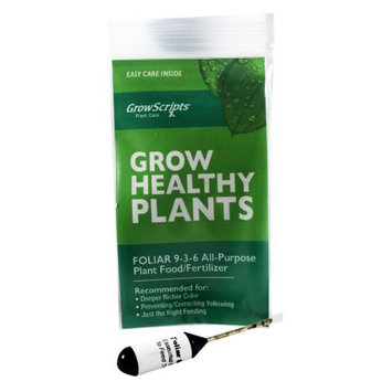 Growscripts Houseplant Green Power Liquid Plant Food Concentrate