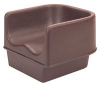 Cambro Single Booster Seat (Dark Brown). Model: EA100BC1131