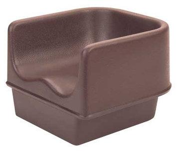 Cambro Single Booster Seat (Dark Brown). Model: EA100BC1131