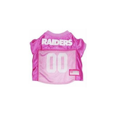 Doggie Nation.com Oakland Raiders Pink Dog Jersey X-Small
