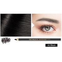 ZHUOTOP 1.2g Soft 3 Color Waterproof Durable Long Lasting Makeup Eyebrow Shadow Pencil Tools Black