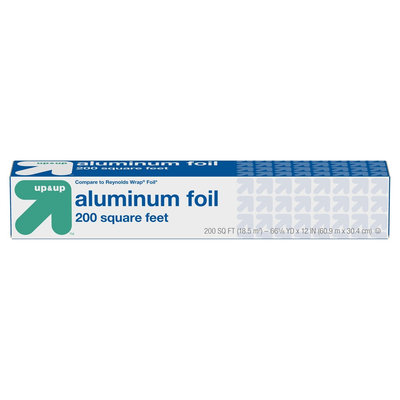 Aluminum (Silver) Foil, 225 Sqft - up & up