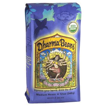Ravens Brew Coffee Raven's Brew Coffee - Dharma Beans Organic Whole Bean Coffee - 12 oz.