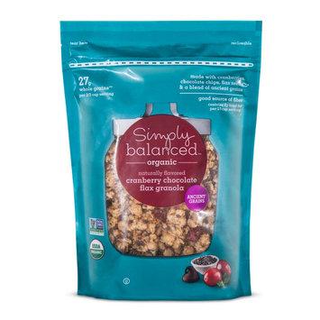 Organic Cranberry Almond Chia Granola 12 oz - Simply Balanced