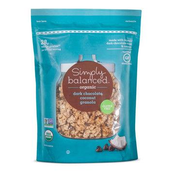 Organic Coconut Dark Chocolate Granola 12 oz - Simply Balanced