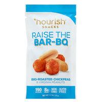 Nourish Snacks Raise The Bar-BQ Bbq-Roasted Chickpeas & Virginia Peanuts - 1.3 oz