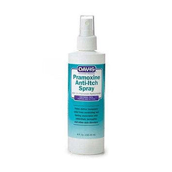 Davis Pramoxine Anti-Itch Dog and Cat Spray, 8-Ounce