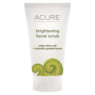 Acure Organics Brightening Facial Scrub Trial Size - 1 Fl Oz
