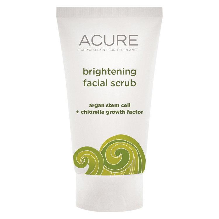 Acure Organics Brightening Facial Scrub Trial Size