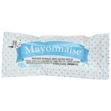 Portion Pack Mayonnaise, 0.42-Ounce Single Serve Packages (Pack of 500)
