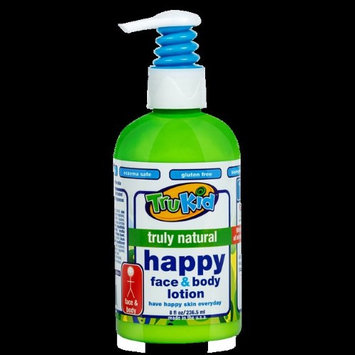 TruKid Happy Face and Body Lotion, Light Citrus, 8 Oz