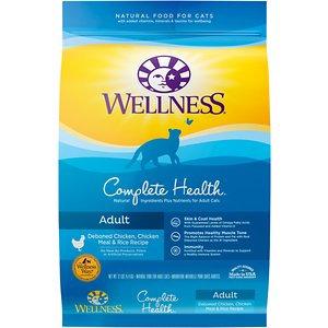 Wellness Complete Health™ Adult Adult: Deboned Chicken, Chicken Meal & Rice Dry Cat Food