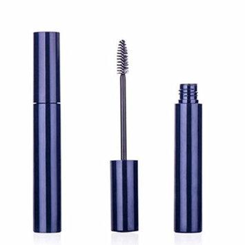 6 PCS 10ml Empty Plastic Mascara Tube Eyelashes Cream Tube Jar Bottle Container with Eyelash Brush DIY(Blue)