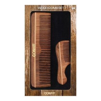 Conair Wood Comb Set