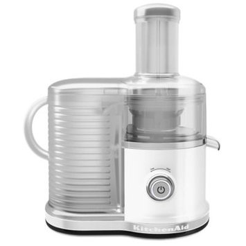 KitchenAid KVJ0333 Wide-Mouth Easy Clean Fast Juicer (White)