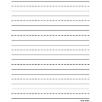 Low Vision Practice Writing Paper- Bold Line