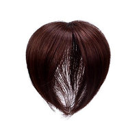 Clip In 100% Virgin Human Hair Top Piece With Simulation Scalp