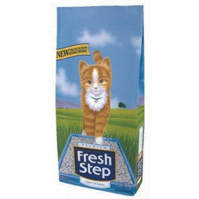 Fresh Step 02031 Clay Scented Cat Litter, 21-Pound
