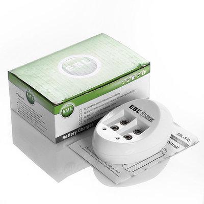 EBL 6F22 9V Battery Charger for 9V Li-ion Ni-MH Ni-CD Rechargeable Batteries (1~2pcs)