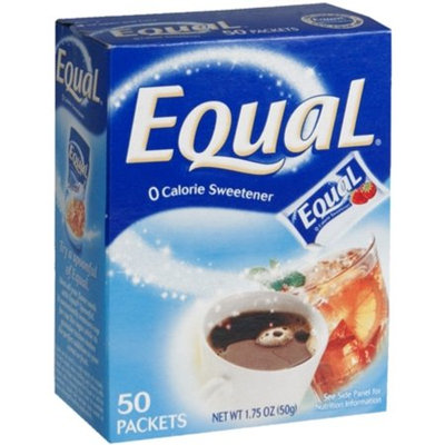 Merisant Company Equal Zero Calorie Sweetener, Original, 50 Ct