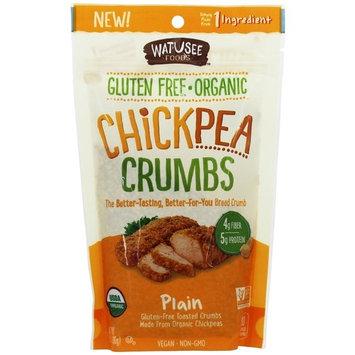 Watusee Foods Chickpea Breadcrumbs, 7 oz