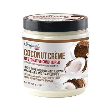 Originals By Africa's Best Coconut Creme Restorative Conditioner, 0.94 Pound (Pack of 6)