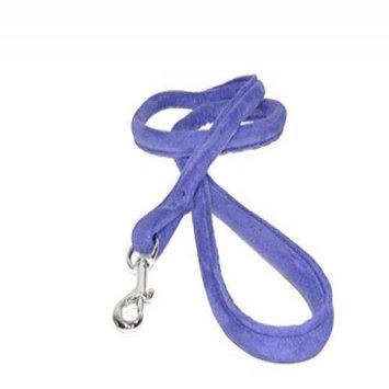 Dogline M8045-9 4 ft. L x 0. 33 W inch Comfort Microfiber Round Leash, Purple