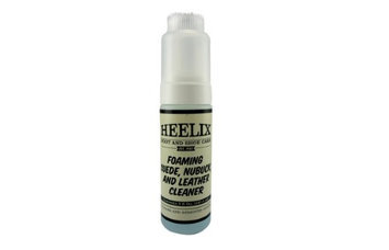 Heelix Foaming Suede, Nubuck and Leather Cleaner with Cap Brush - 3 Ounces