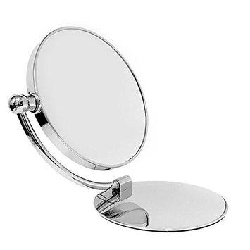 Rucci Vanity Swing Classic Chrome Desk Mirror