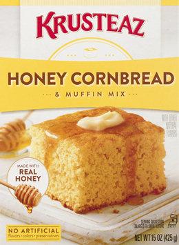 Krusteaz Muffin Mix, Honey Cornbread, Box