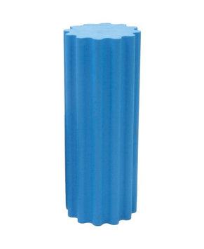 Blue Thera-Roll Textured Roller w/Ridges, Medium, 7x36 inch