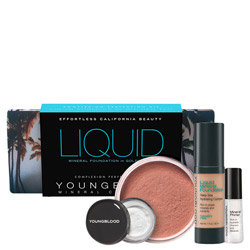 Youngblood Mineral Cosmetics Liquid Foundation Kit Golden Tan