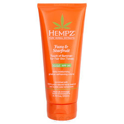 Hempz Yuzu & Starfruit Touch of Summer for Fair Skin Tones 6.76oz
