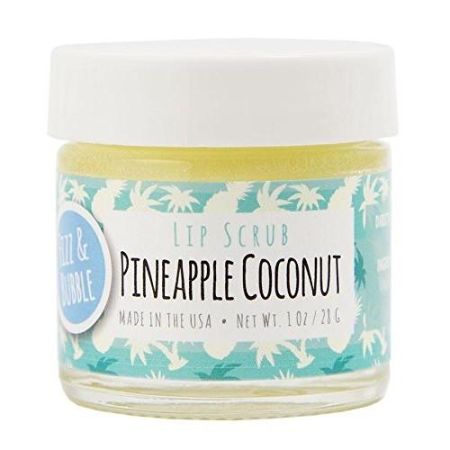 Fizz & Bubble Lip Scrub Pineapple Coconut 1 Ounce