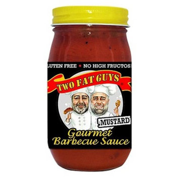 Two Fat Guys® Mustard Gourmet Barbecue Sauce - 18oz