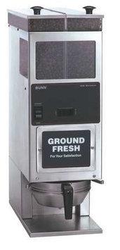 BUNN G92 Portion Control Coffee Grinder,H 25