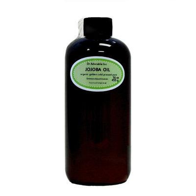 Dr.Adorable - 100% Pure Jojoba Oil Organic Unrefined Cold Pressed - 16 oz